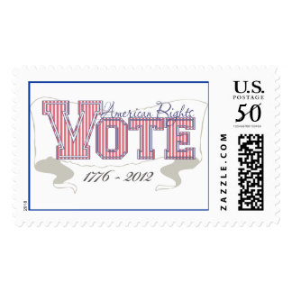 """American Rights """"VOTE"""" 1776-2012 Postage"""