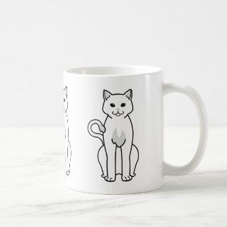 American Ringtail Cat Cartoon Coffee Mug