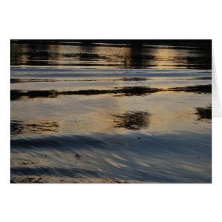 American River Ripples Greeting Card