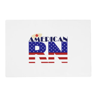 American RN Placemat