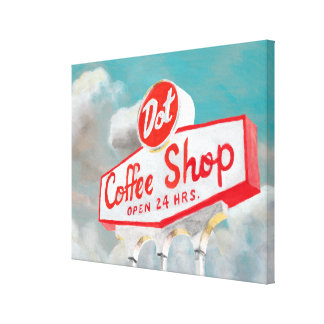 American Roadside | Coffee Shop Sign