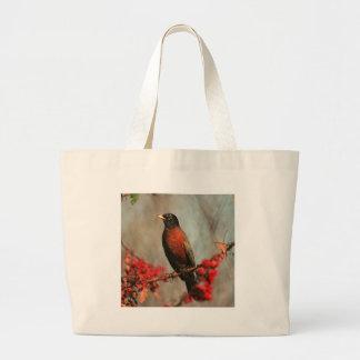 American Robin Canvas Bag