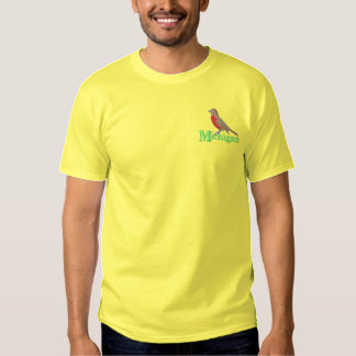 American Robin Embroidered T-Shirt