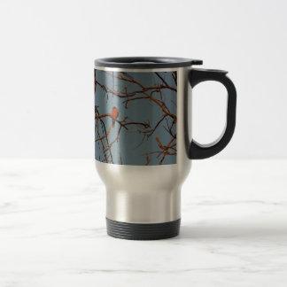 American Robin home to roost Coffee Mugs