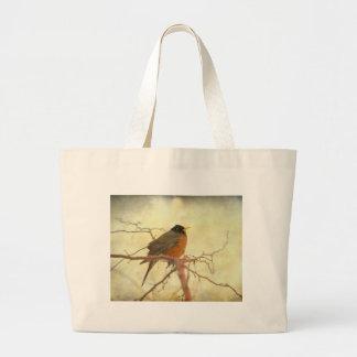 American Robin in The Springtime Bag