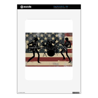 American Rock Band Skins For The iPad