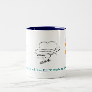 American Rock The Best Music on the Planet! Two-Tone Coffee Mug