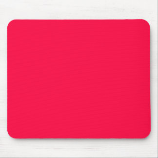 AMERICAN ROSE (a solid reddish pink color) ~ Mouse Pad