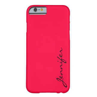 American rose color background barely there iPhone 6 case