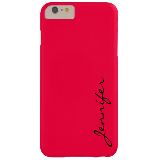 American rose color background barely there iPhone 6 plus case