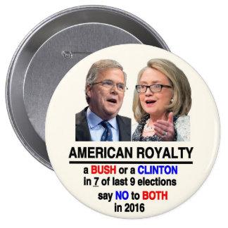 American Royalty Pinback Button
