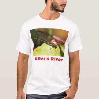 American Rubyspot, Miller's River Massachusetts T-Shirt