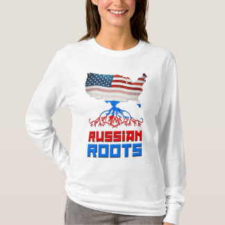 American Russian Roots Women's T-Shirt