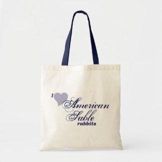 American Sable rabbits Tote Bag