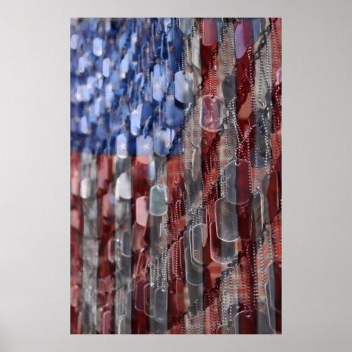 American Sacrifice by DJ Florek Poster