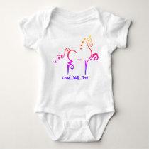American Saddlebred - Baby Onsie Baby Bodysuit