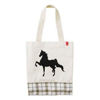 American Saddlebred Bag Zazzle HEART Tote Bag