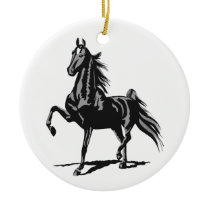 American Saddlebred Ceramic Ornament