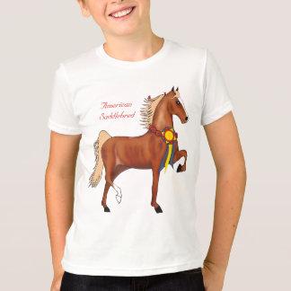 American Saddlebred Champion Kids Ringer T-shirt