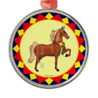 American Saddlebred Champion Ornament