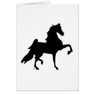 American Saddlebred Horse Card