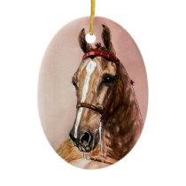 American Saddlebred Horse Christmas Ornament