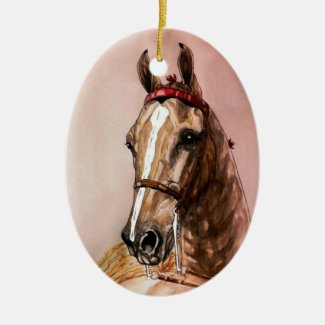 american saddlebred horse christmas ornament - Horse Christmas Ornaments