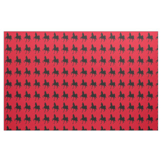 American Saddlebred Horse Fabric