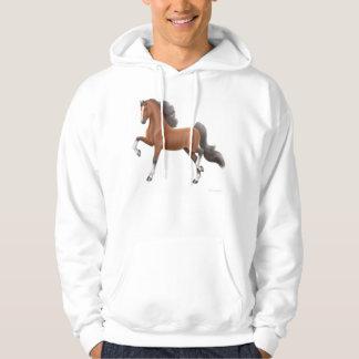 American Saddlebred Horse Hooded Sweatshirt
