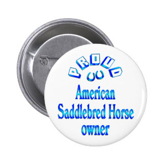 American Saddlebred Horse Owner Pins