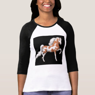American Saddlebred Horse Raglan Shirt