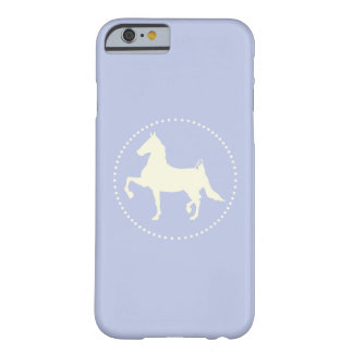 American Saddlebred Horse Silhouette Barely There iPhone 6 Case
