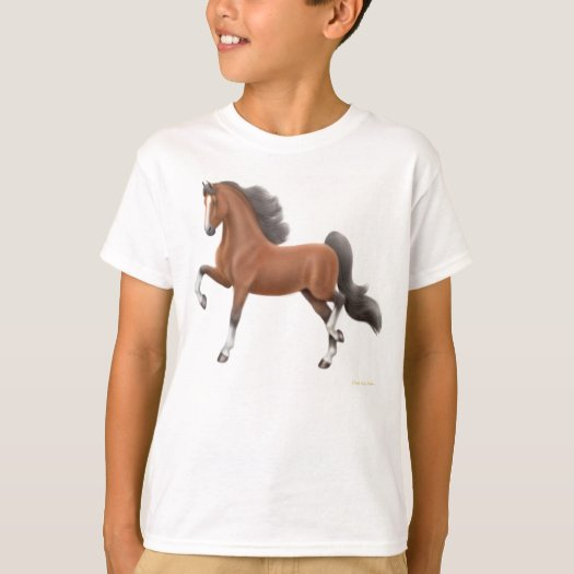 American Saddlebred Kids T-Shirt