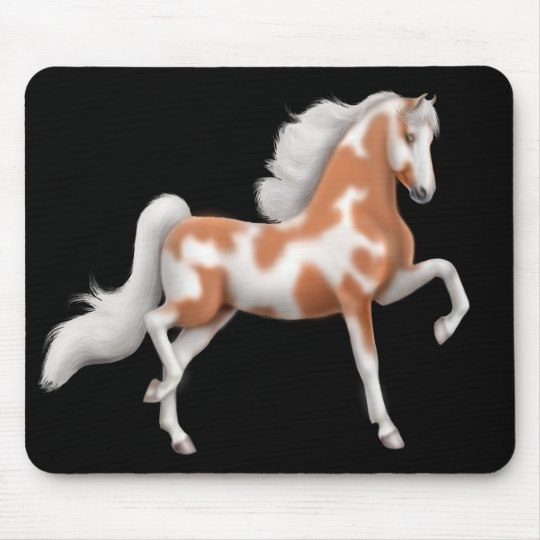 American Saddlebred Paint Horse Mousepad