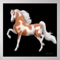 American Saddlebred Paint Horse Print