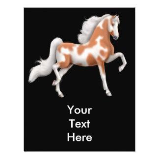 American Saddlebred Pinto Horse Flyer