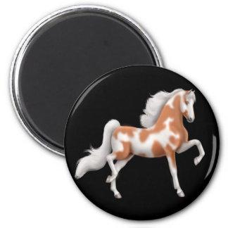 American Saddlebred Pinto Horse Magnet