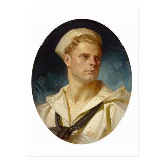 American Sailor by Joseph Leyendecker Postcards