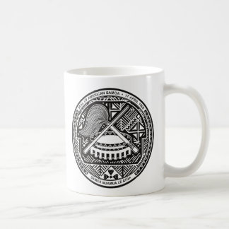American Samoa Coat of arm AS Coffee Mug
