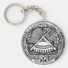American Samoa Coat Of Arms Keychain