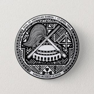 American Samoa Coat of Arms Pinback Button
