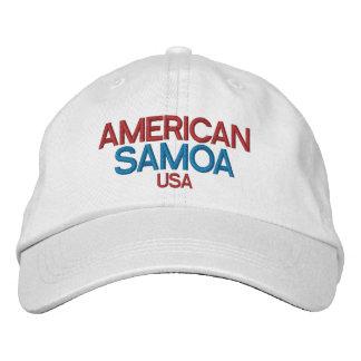 American Samoa Embriodered Hat