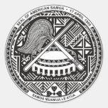 American Samoa Etiqueta