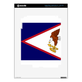 American Samoa Flag iPad 3 Decal