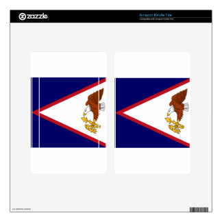 American Samoa Flag Kindle Fire Decals