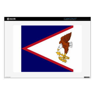 American Samoa Flag Laptop Decal