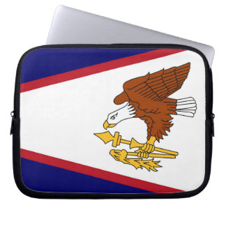 American Samoa Flag Laptop Sleeve