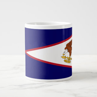 American Samoa Flag Large Coffee Mug