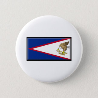 American Samoa Flag Pinback Button