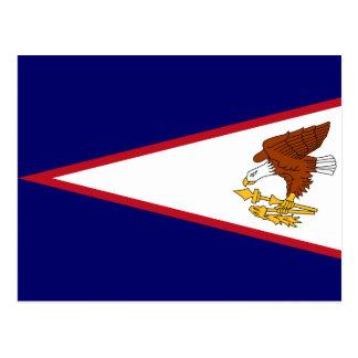 American Samoa Flag Postcard